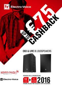 Promo Electro-Voice CASHBACK