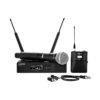 QLX-D Sistema Radiomicrofonico Digitale