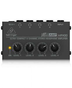 MICROAMP HA400 amplificatore per cuffie