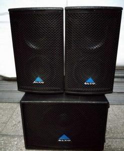 Alto Impianto audio 1400 Watt