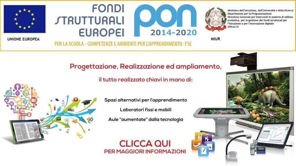 PON e POR FESR 2014-2020
