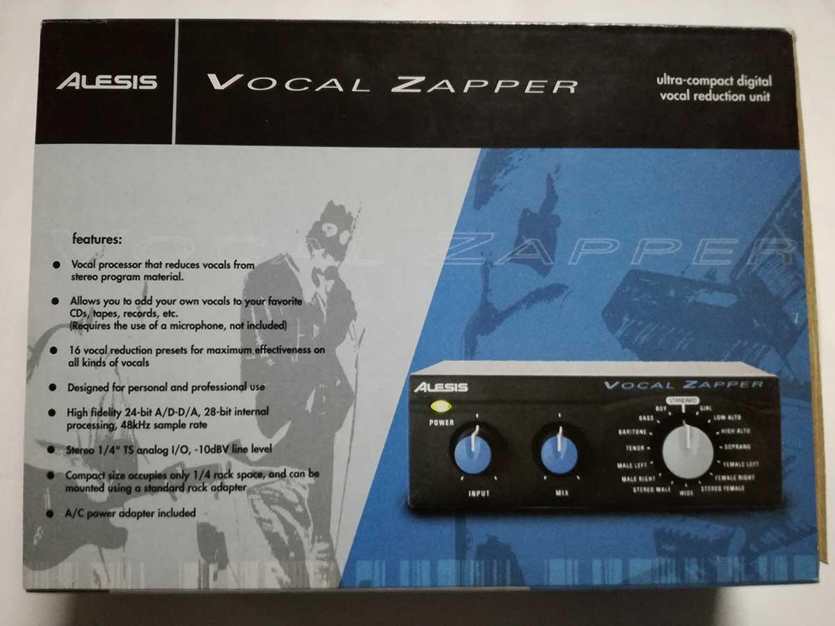 Vocal Zapper
