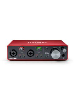 Focusrite Scarlett 2i2 3nd Gen scheda audio